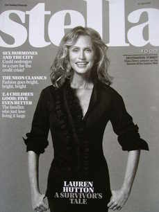 <!--2010-04-25-->Stella magazine - Lauren Hutton cover (25 April 2010)