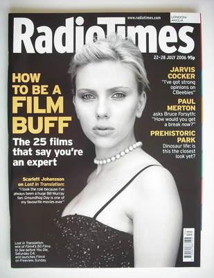 <!--2006-07-22-->Radio Times magazine - Scarlett Johansson cover (22-28 Jul
