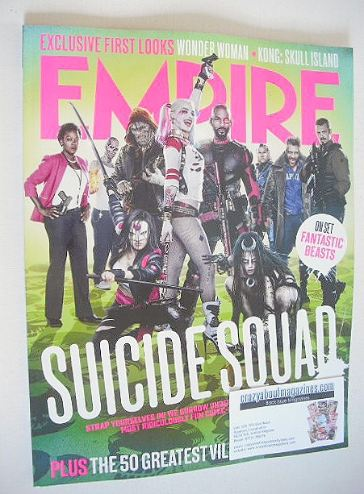 <!--2016-09-->Empire magazine - Suicide Squad cover (September 2016)