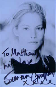 Sienna Guillory autograph