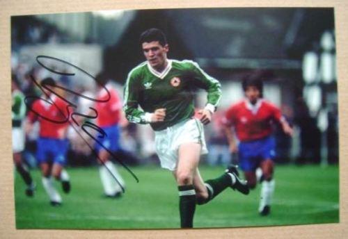 Roy Keane autograph