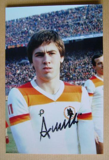 Carlo Ancelotti autograph
