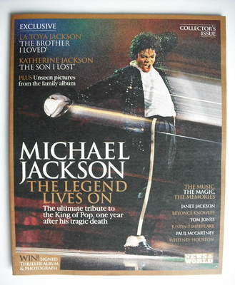 News Of The World magazine supplement - Michael Jackson (June 2010)