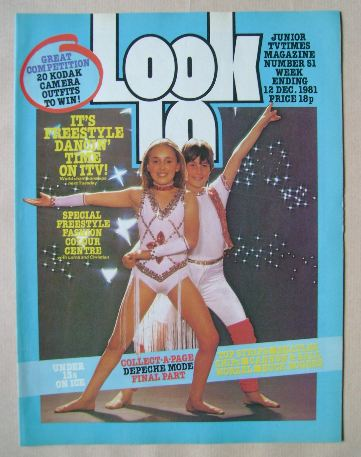 <!--1981-12-12-->Look In magazine - 12 December 1981