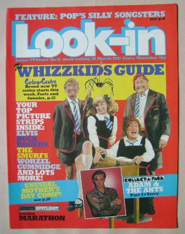 <!--1981-03-28-->Look In magazine - 28 March 1981
