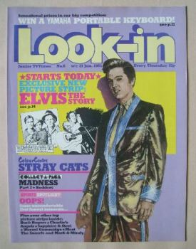 Look In magazine - Elvis Presley cover (31 January 1981)