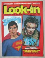 <!--1981-04-18-->Look In magazine - Superman and Adam Ant cover (18 April 1981)