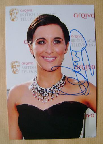 Vicky McClure autograph