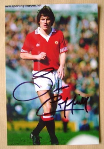 Steve Coppell autograph
