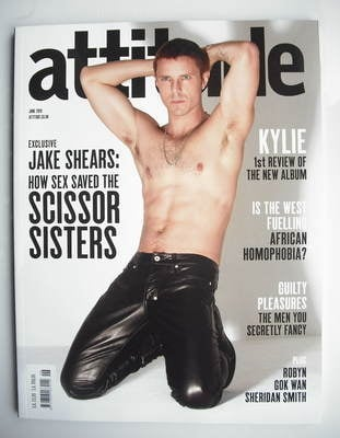 <!--2010-06-->Attitude magazine - Jake Shears cover (June 2010)