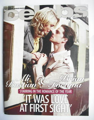 <!--2010-07-04-->Celebs magazine - Ali Bastian and Brian Fortuna cover (4 J
