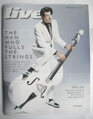<!--2010-07-11-->Live magazine - Mark Ronson cover (11 July 2010)