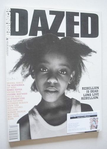 <!--2001-04-->Dazed & Confused magazine (April 2001 - Jodell cover)