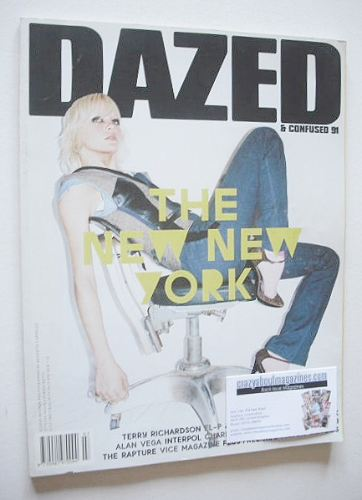 <!--2002-07-->Dazed & Confused magazine (July 2002 - Alison Renner cover)