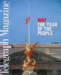 <!--1997-12-27-->Telegraph magazine - 1997 The Year Of The People cover (27