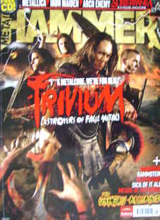 Metal Hammer magazine - Trivium cover (January 2007)