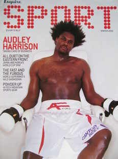 Esquire Sport magazine - Audley Harrison cover (Winter 2001)