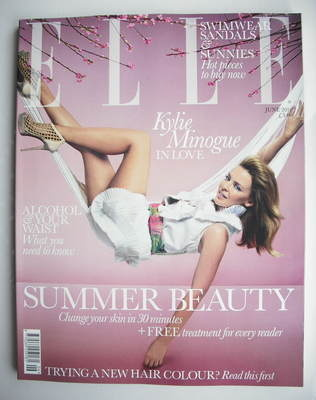 <!--2010-06-->British Elle magazine - June 2010 - Kylie Minogue cover