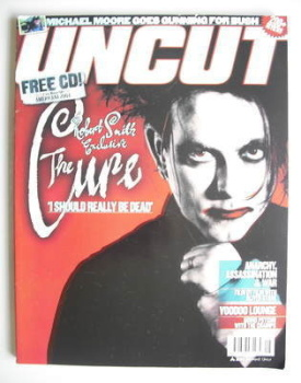 Uncut magazine - Robert Smith cover (August 2004)