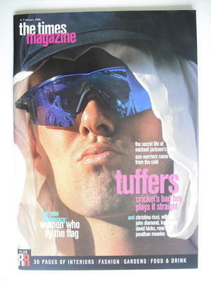 <!--1998-02-07-->The Times magazine - Phil Tufnell cover (7 February 1998)