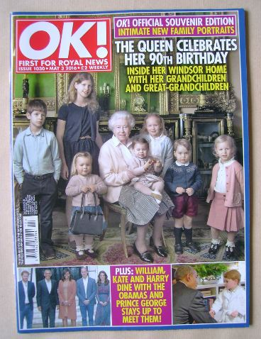 <!--2016-05-03-->OK! magazine - 3 May 2016 (Issue 1030)