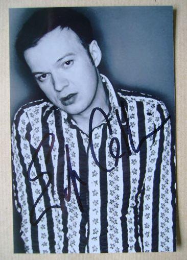 Edwyn Collins autograph