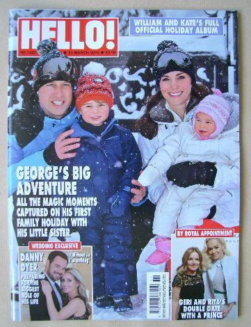 <!--2016-03-21-->Hello! magazine - Prince William, Kate Middleton, Prince G