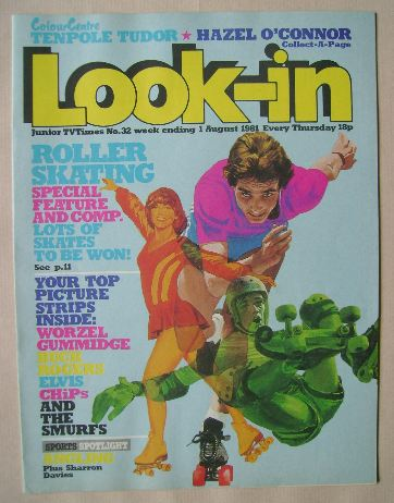 <!--1981-08-01-->Look In magazine - 1 August 1981