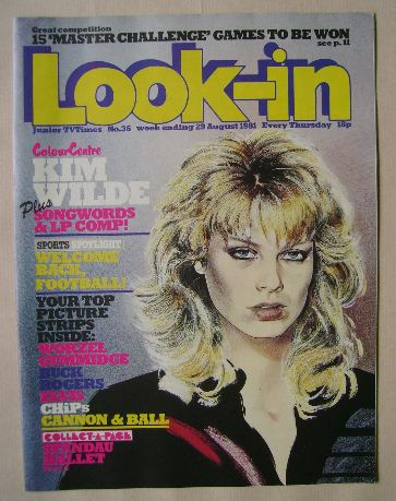 <!--1981-08-29-->Look In magazine - 29 August 1981