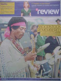 The Daily Telegraph Review newspaper supplement - 8 August 2009 - Jimi Hend