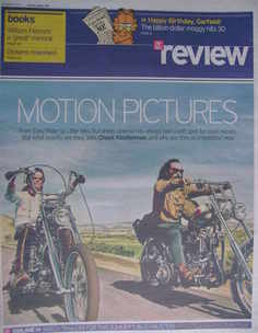 The Daily Telegraph Review newspaper supplement - 4 April 2009 - Road Movie