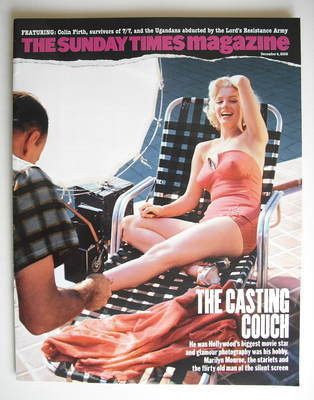 <!--2005-12-04-->The Sunday Times magazine - Marilyn Monroe cover (4 Decemb