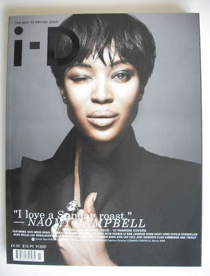 <!--2009-03-->i-D magazine - Naomi Campbell cover (March 2009)