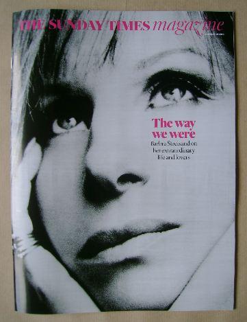<!--2016-08-21-->The Sunday Times magazine - Barbra Streisand cover (21 Aug