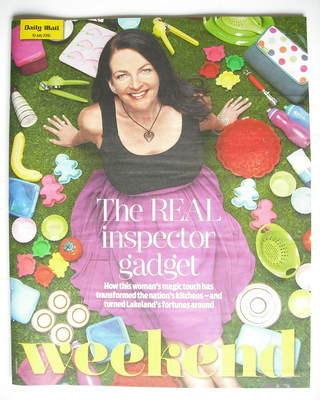 <!--2010-07-10-->Weekend magazine - Wendy Miranda cover (10 July 2010)