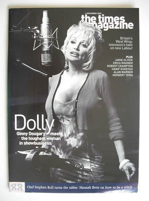 <!--2002-11-02-->The Times magazine - Dolly Parton cover (2 November 2002)