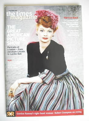 <!--2002-10-05-->The Times magazine - The Great American Picture Show cover
