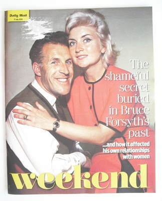 Weekend magazine - Bruce Forsyth cover (17 July 2010)