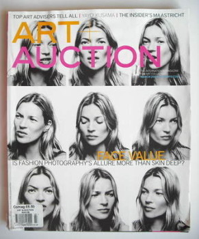 Art Auction magazine - Kate Moss cover (March 2009)