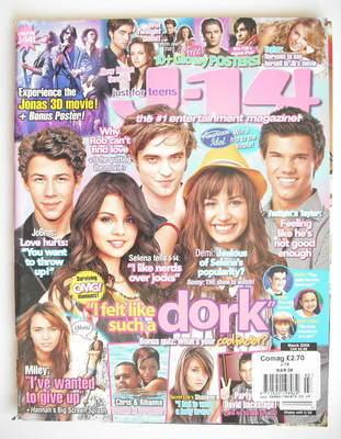 J-14 magazine (March 2009)