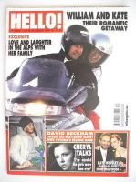 <!--2010-03-29-->Hello! magazine - Prince William and Kate Middleton cover (29 March 2010 - Issue 1116)