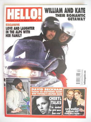 <!--2010-03-29-->Hello! magazine - Prince William and Kate Middleton cover