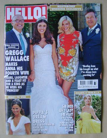 <!--2016-08-22-->Hello! magazine - Gregg Wallace, Anne-Marie Sterpini, John
