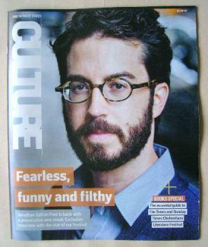 Culture magazine - Jonathan Safran Foer cover (21 August 2016)