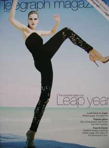 <!--2009-03-28-->Telegraph magazine - Leap Year cover (28 March 2009)