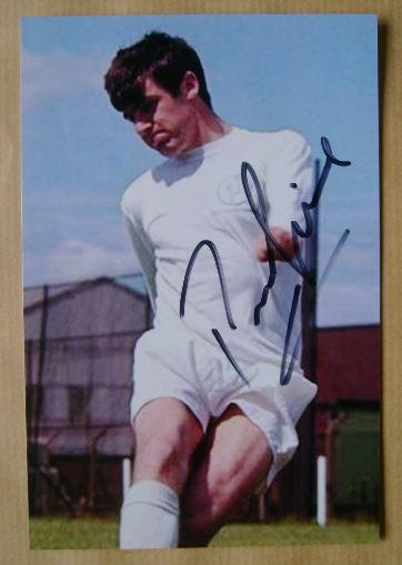Peter Lorimer autograph