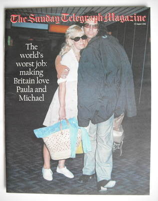 The Sunday Telegraph magazine - Paula Yates and Michael Hutchence cover (11