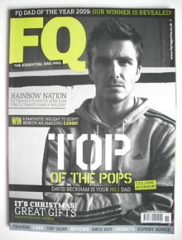 FQ magazine - David Beckham cover (November/December 2009)