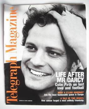 Telegraph magazine - Colin Firth cover (11 January 1997)