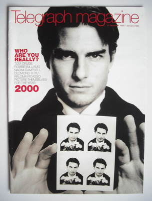 <!--1999-12-31-->Telegraph magazine - Tom Cruise cover (31 December 1999 /